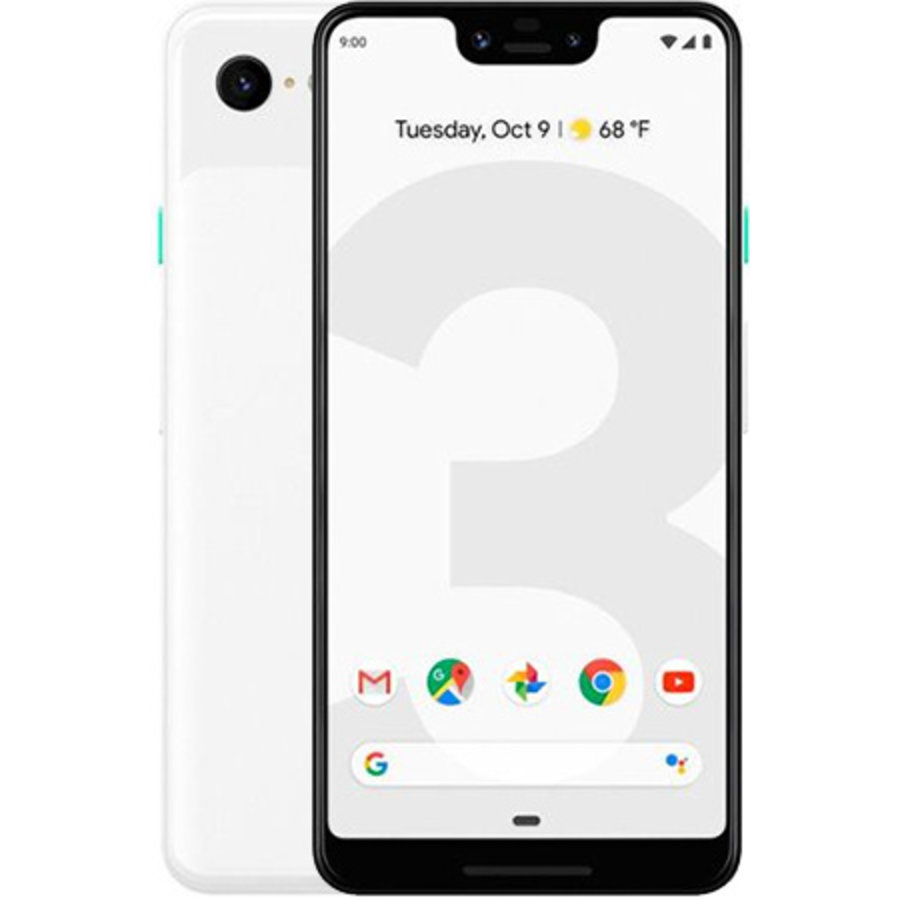 Google Pixel 3 XL 64GB Clearly White (64GB Clearly White)-1