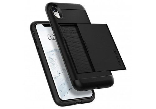 Spigen Slim Armor CS voor de iPhone XR Zwart
