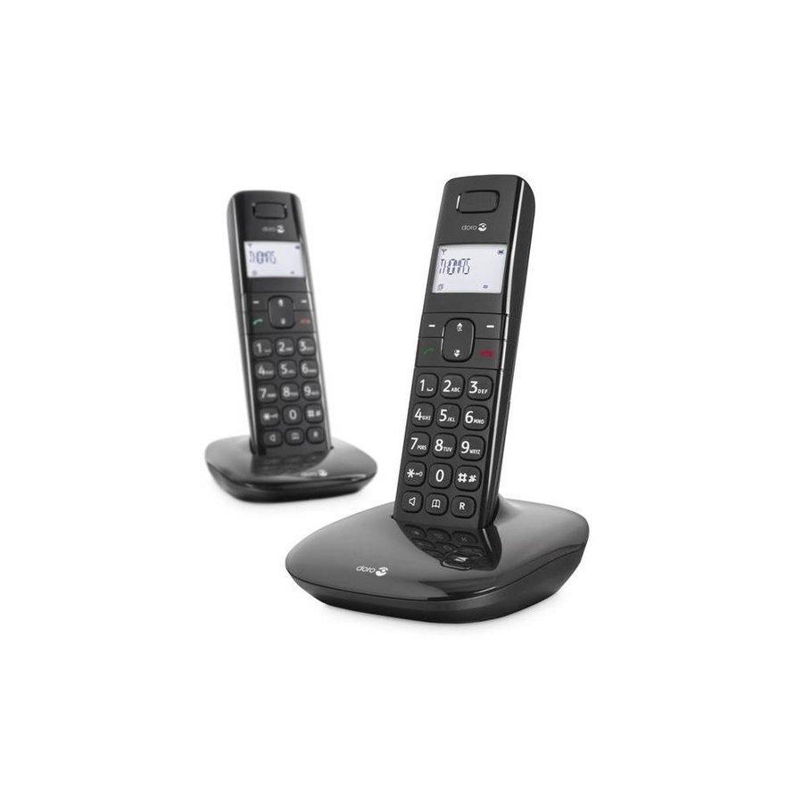Doro Comfort 1010 Duo Dect Black-1