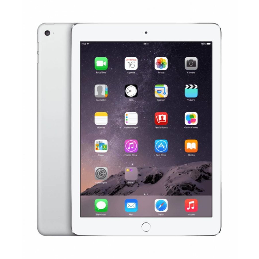 Refurbished iPad Air 2 Wit 128GB Wifi only-2
