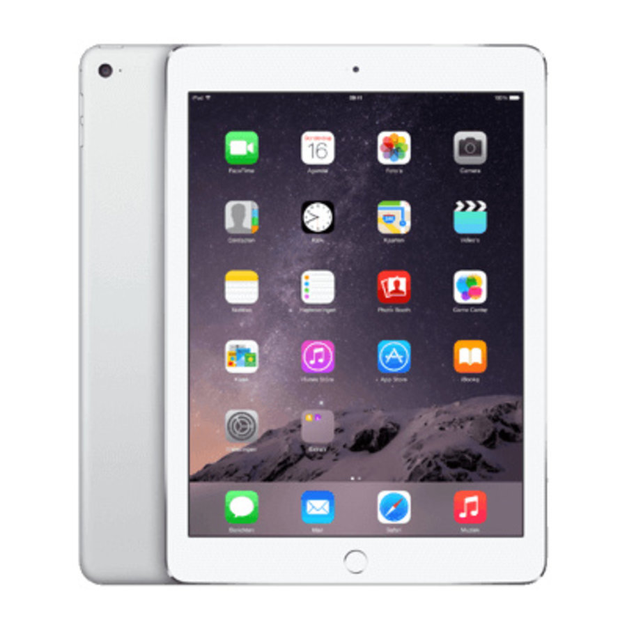 Refurbished iPad Air 2 Wit 128GB Wifi only-3