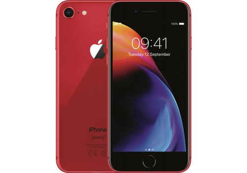 Refurbished iPhone 8 - 64GB - Red