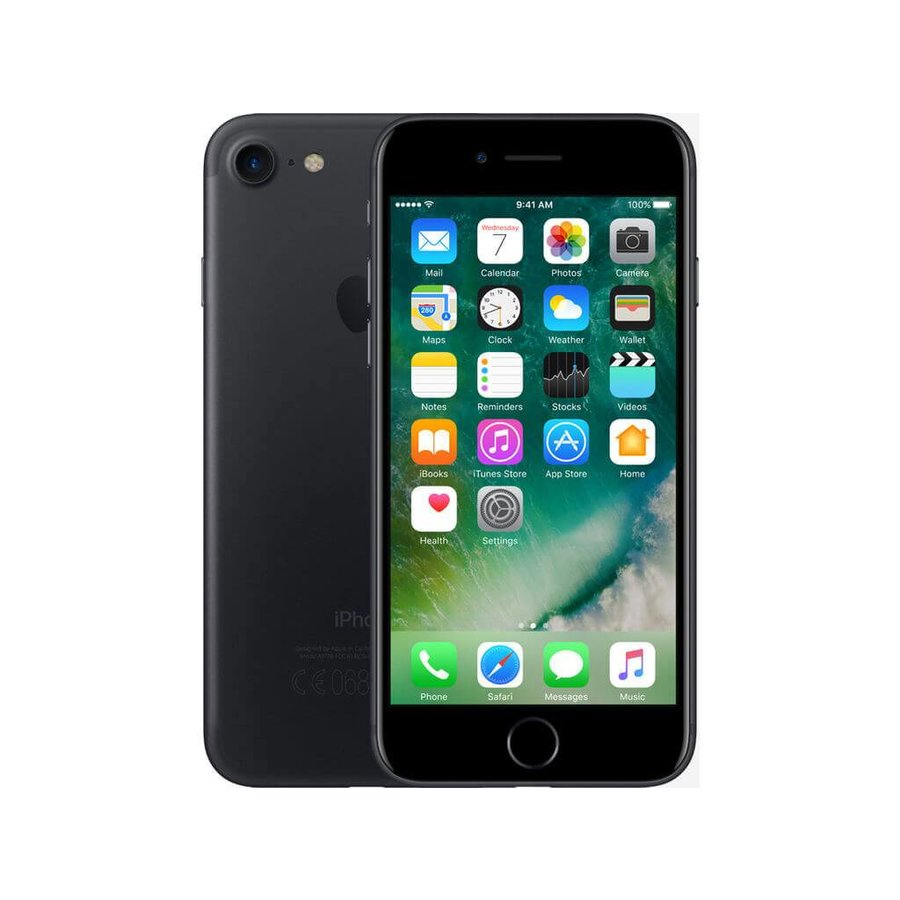 Refurbished iPhone 7 Plus 128GB Zwart-1