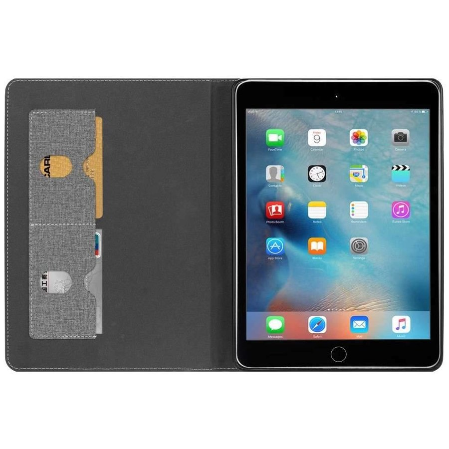 Just in Case Apple iPad 9.7 (2017 / 2018) Luxury Protective Case (Black)-4