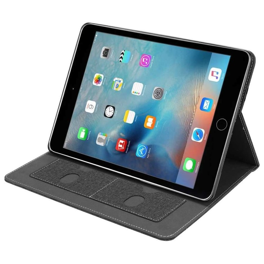 Just in Case Apple iPad 9.7 (2017 / 2018) Luxury Protective Case (Black)-1