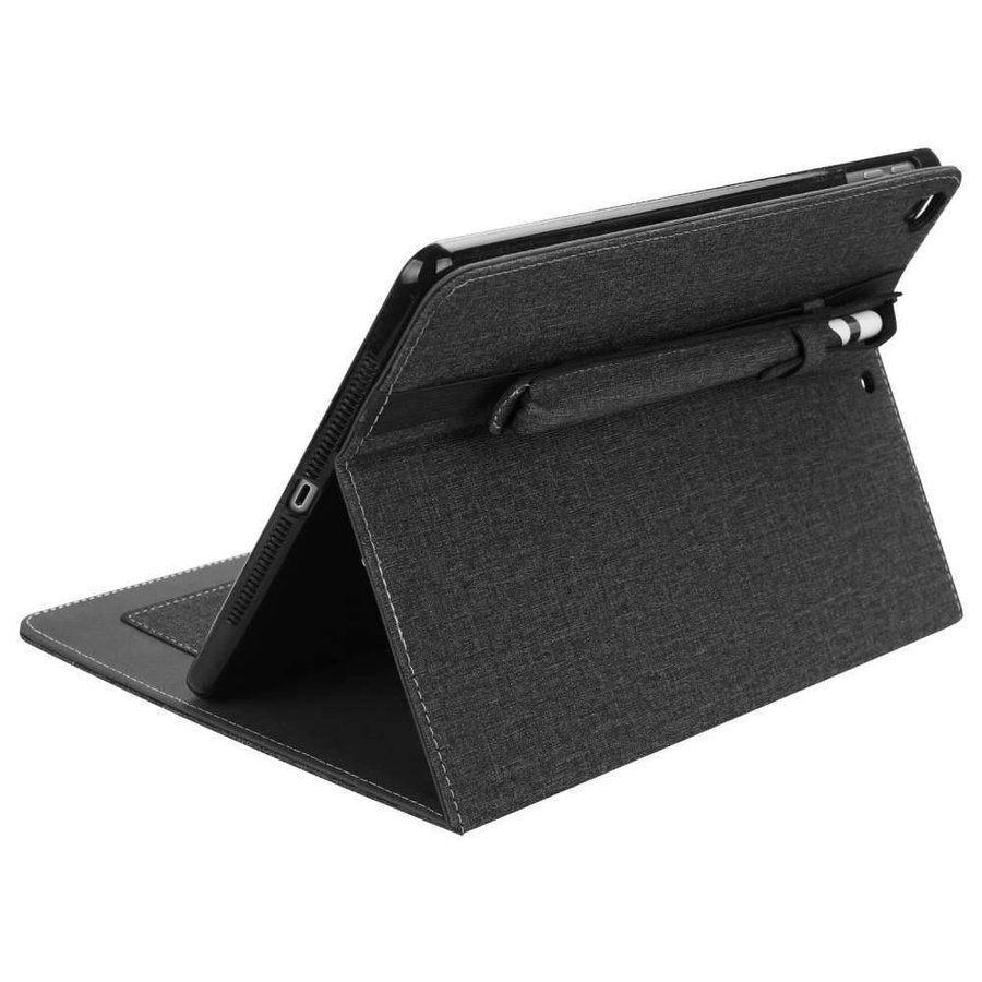 Just in Case Apple iPad 9.7 (2017 / 2018) Luxury Protective Case (Black)-5