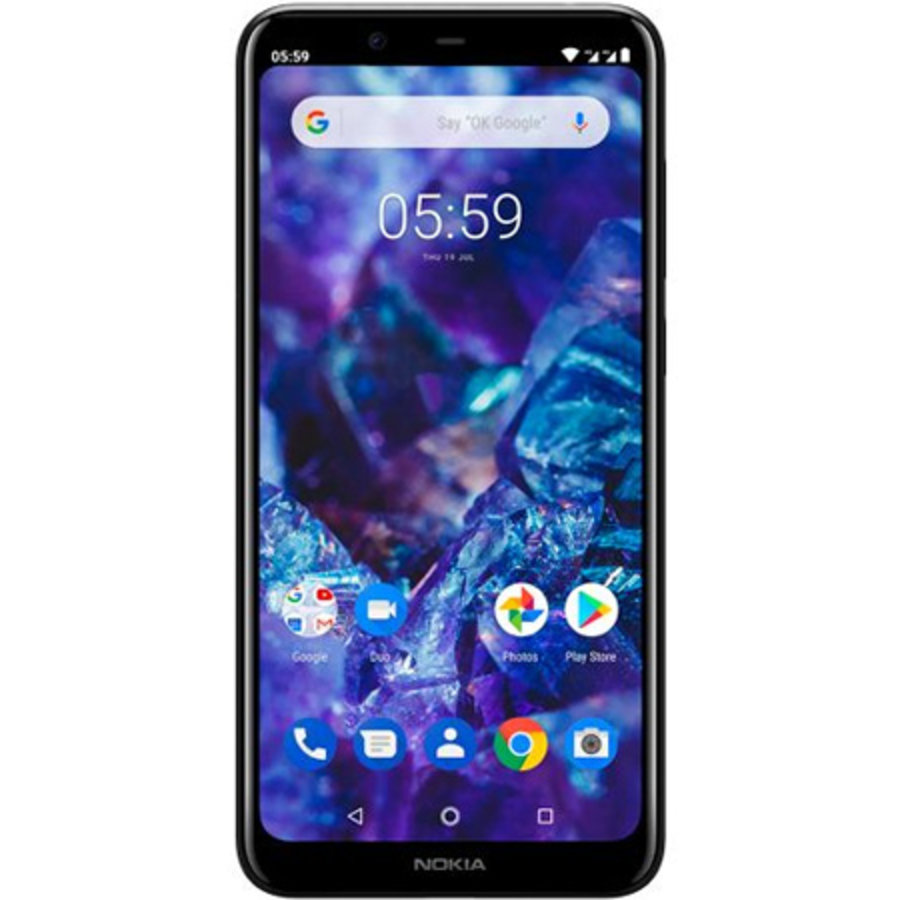 Nokia 5.1 Plus Dual Sim Black (Black)-1