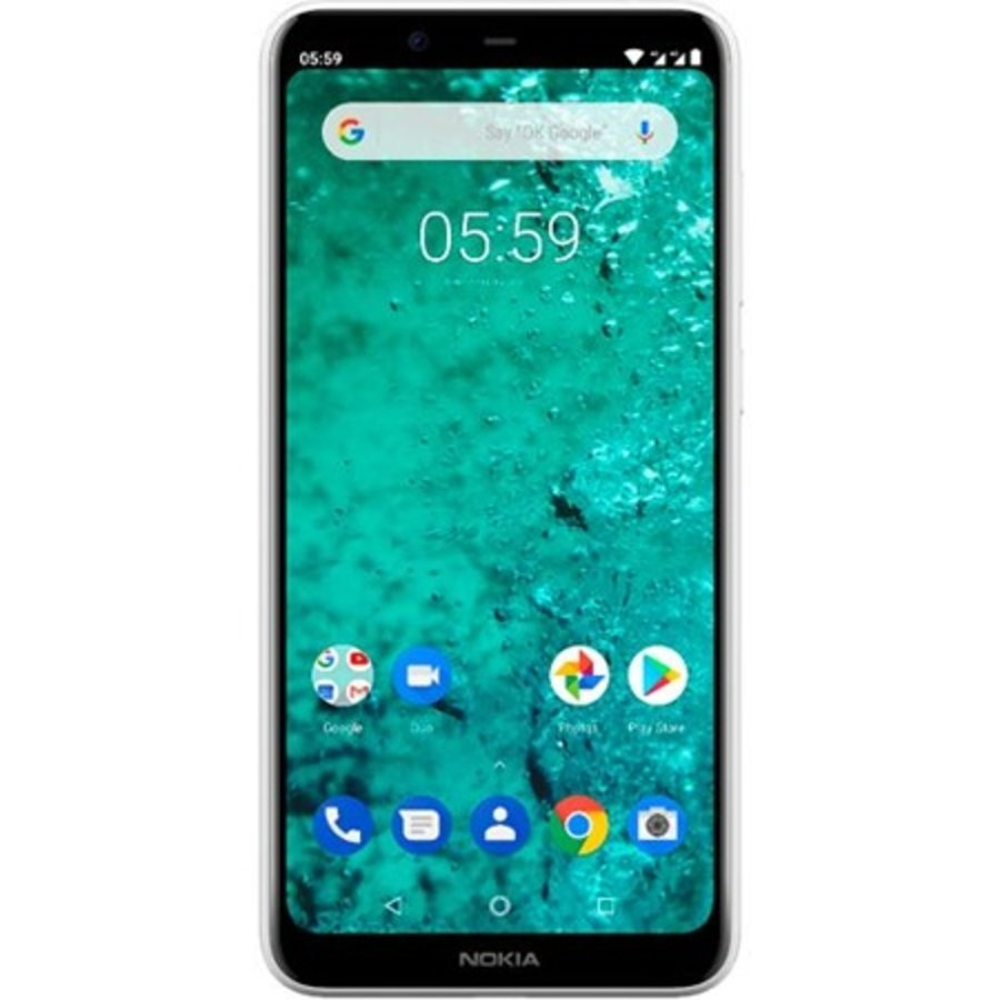 Nokia 5.1 Plus Dual Sim White (Black)-1