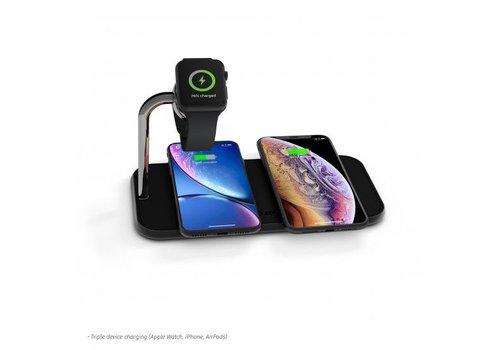 Zens Aluminium Dual Wireless Charger + Watch