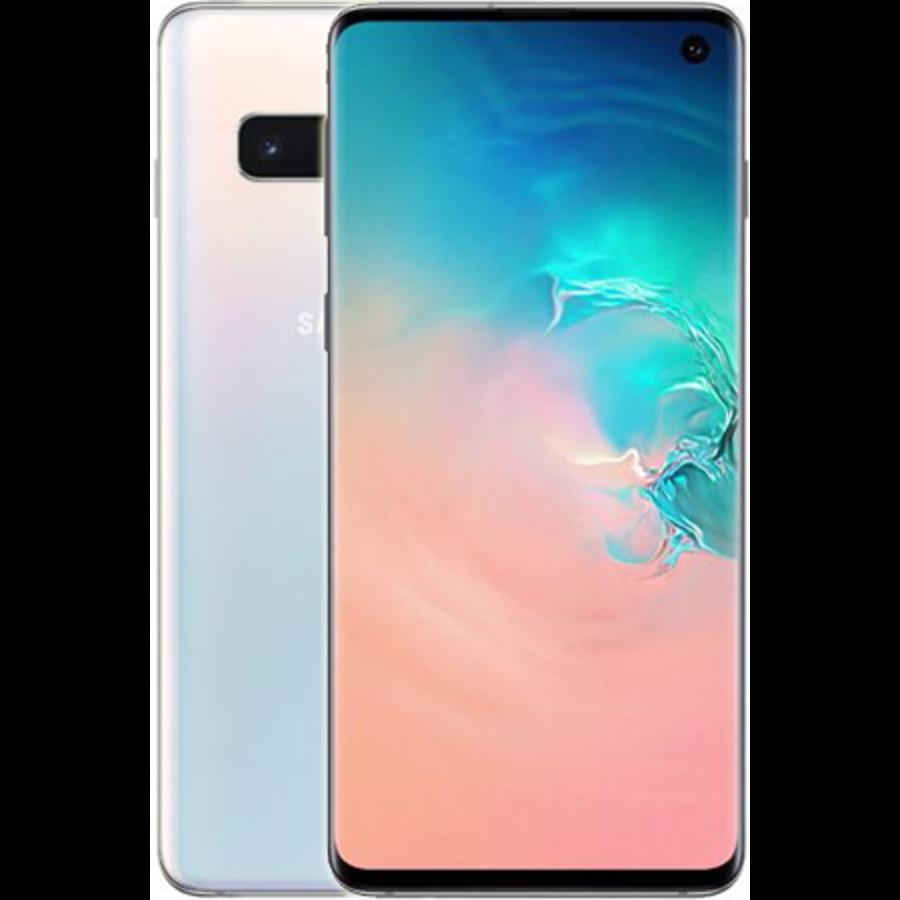 Samsung Galaxy S10 Dual Sim G973F White (128GB White)-1