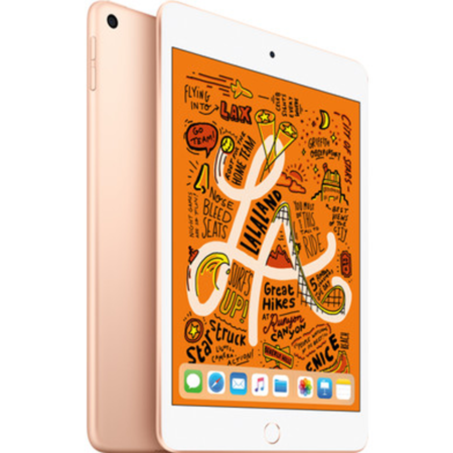 Apple iPad Mini 2019 WiFi + 4G 64GB Gold (64GB Gold)-1