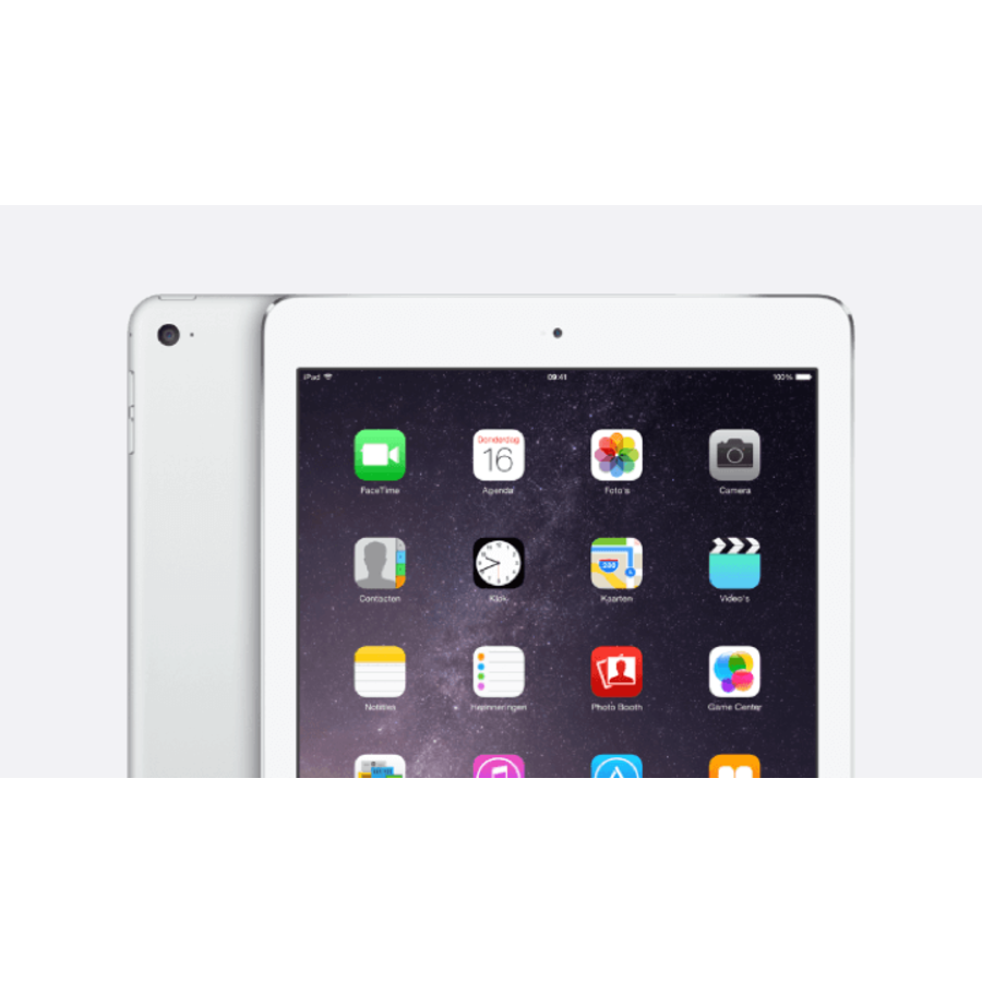 Refurbished iPad Air 2 Wit 64GB Wifi + 4G-1