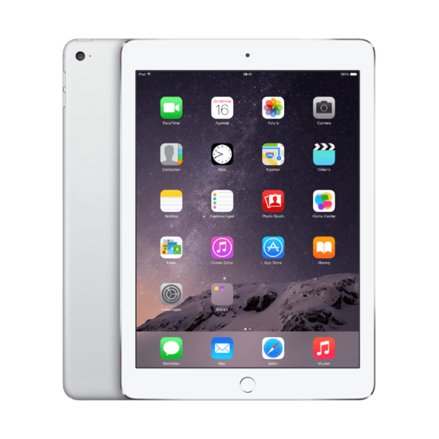 Refurbished iPad Air 2 Wit 64GB Wifi + 4G-2