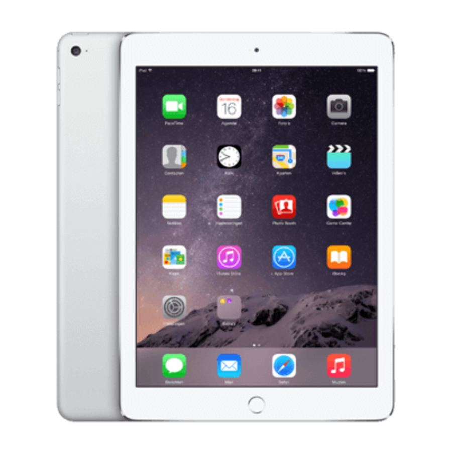 Refurbished iPad Air 2 Wit 64GB Wifi + 4G-3