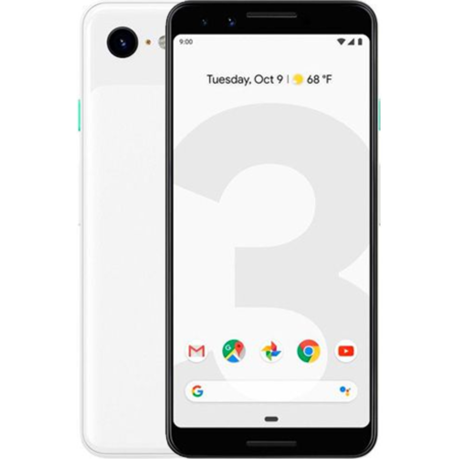 Google Pixel 3 64GB Clearly White (64GB Black)-1
