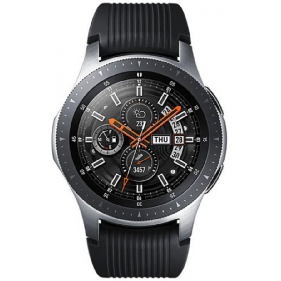 Samsung Galaxy Watch 46mm R800 Silver Black (Silver Black)-1