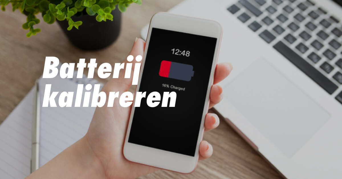 iPhone batterij kalibreren