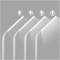 thumb-Celly LED-bureaulamp met draadloos laadstation - wit-5