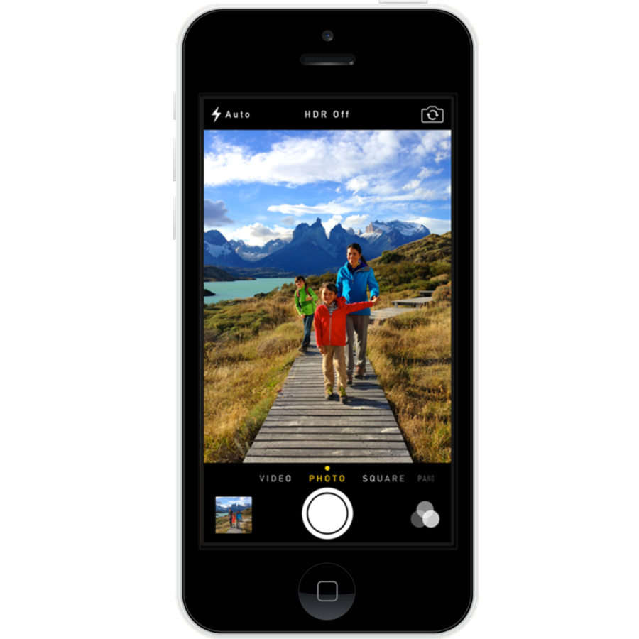 Refurbished iPhone 5C Wit 16gb-1