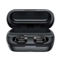 thumb-Baseus Wireless Earphones Encok W01 - Black-3