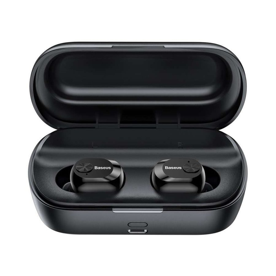 Baseus Wireless Earphones Encok W01 - Black-3