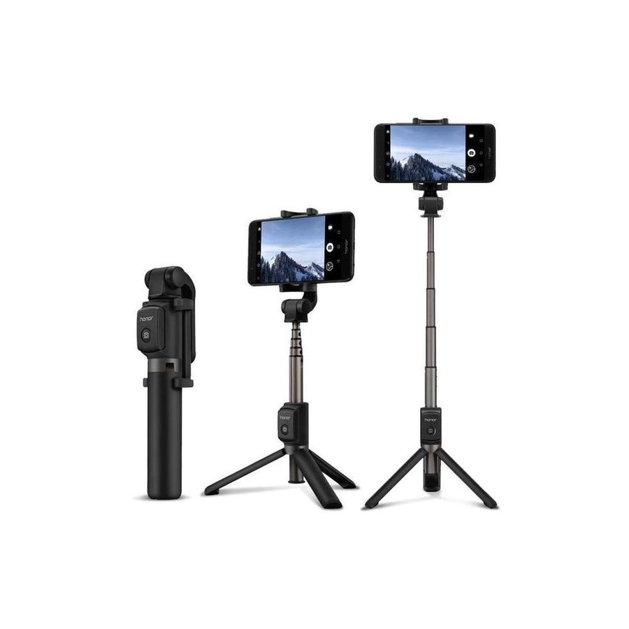 Huawei - AF15 - Bluetooth Selfie Stick Tripod - Black-4