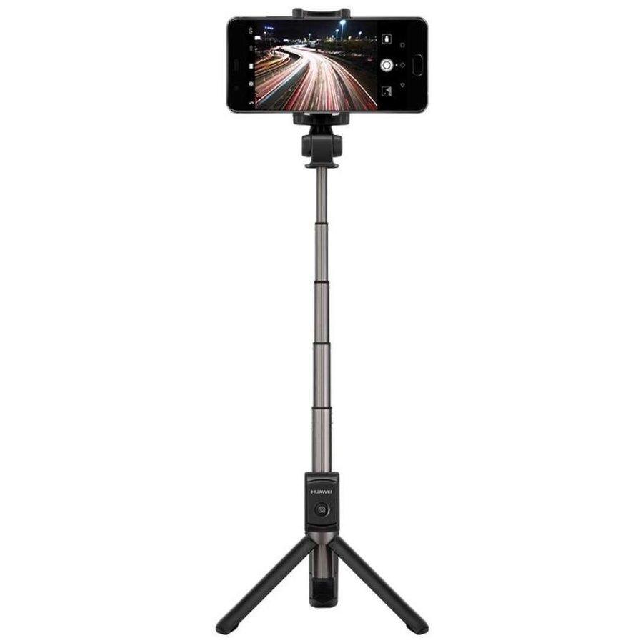 Huawei - AF15 - Bluetooth Selfie Stick Tripod - Black-5
