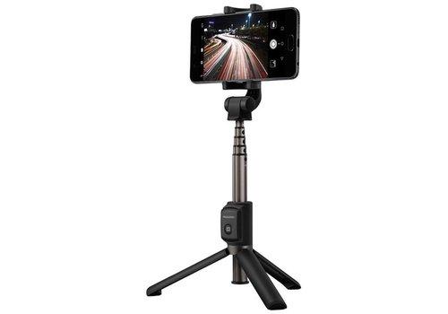 Huawei - AF15 - Bluetooth Selfie Stick Tripod - Black