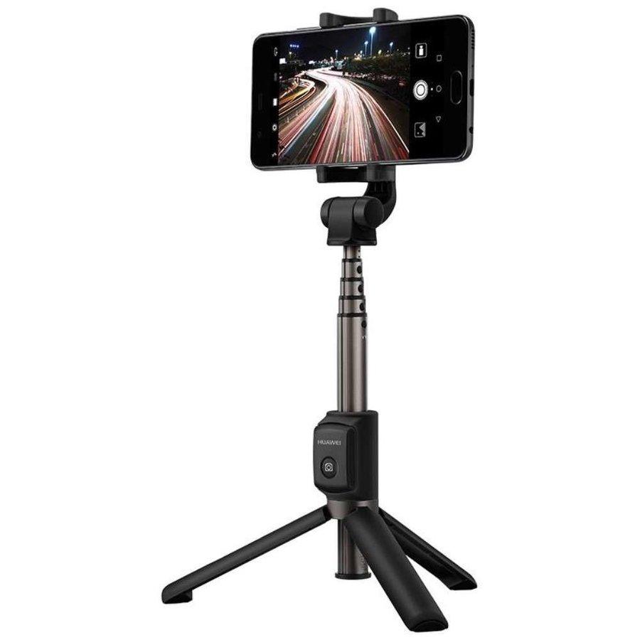 Huawei - AF15 - Bluetooth Selfie Stick Tripod - Black-1