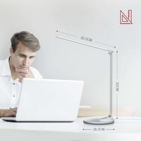 thumb-Taotronics LED Bureaulamp | 5 Lichtstanden & 5 Helderheidsniveaus | Draadloos Opladen | USB-poort |-4