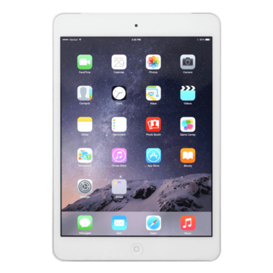 Refurbished iPad Mini 2 Wit 16GB Wifi + 4G-1