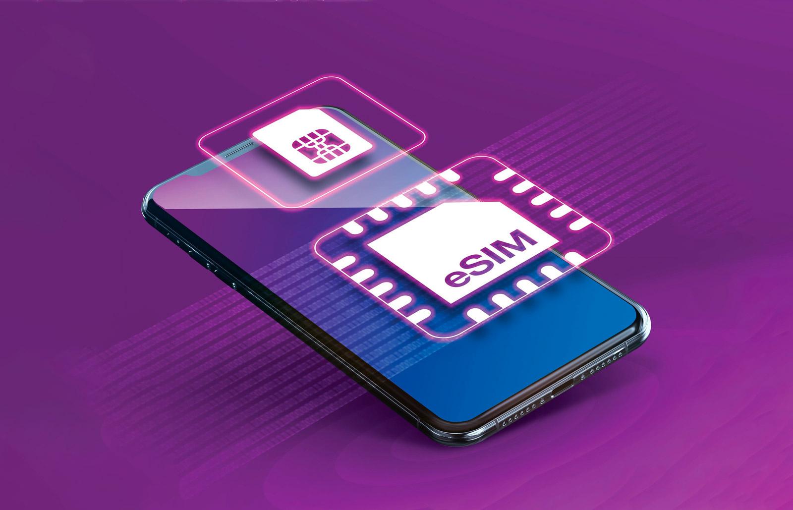 eSim ook in Nederland beschikbaar
