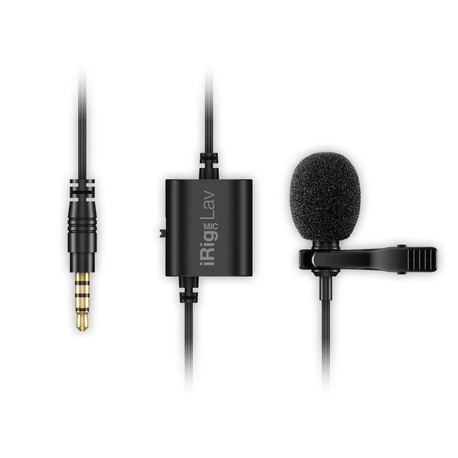 IK Multimedia iRig Mic Lav dasspeldmicrofoon voor iOS en Android-2