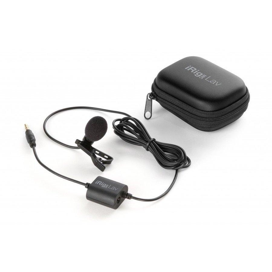 IK Multimedia iRig Mic Lav dasspeldmicrofoon voor iOS en Android-3
