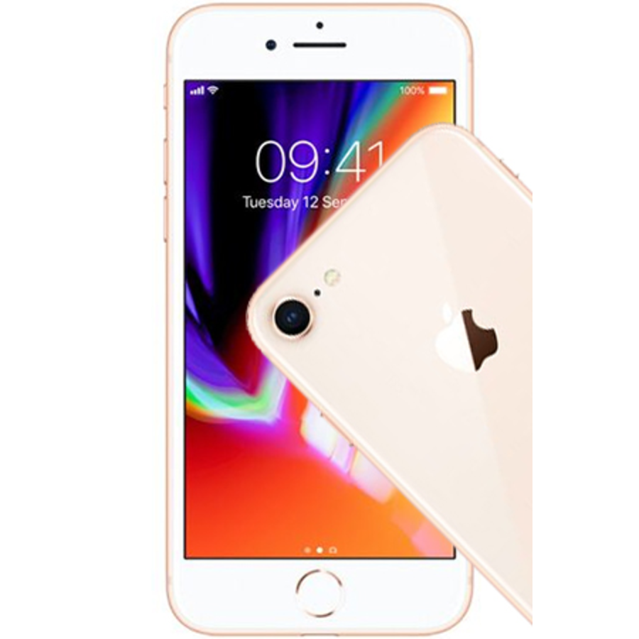 Apple iPhone 8 128GB Gold (128GB Gold)-1