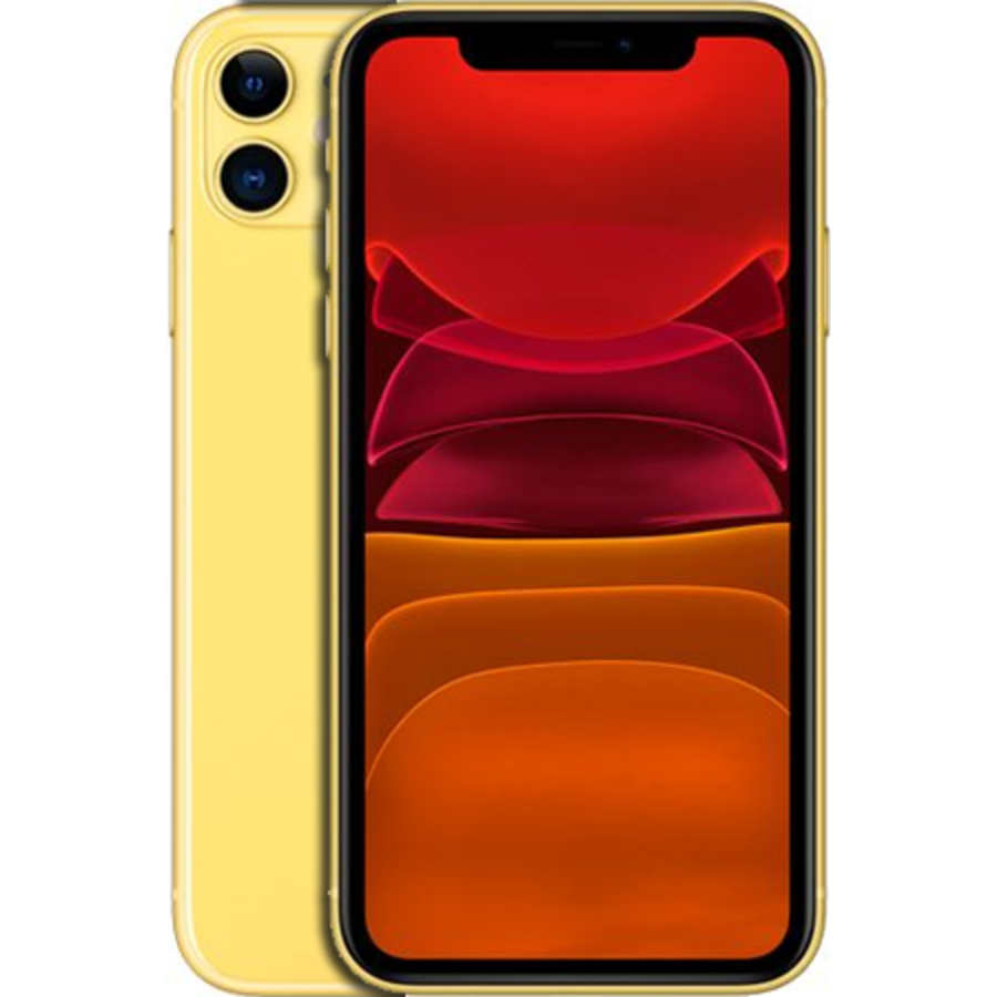 Apple iPhone 11 64GB Yellow (64GB Yellow)-1