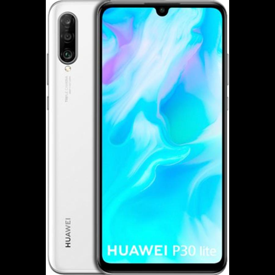 Huawei P30 Lite Dual Sim 128GB White (128GB White)-1