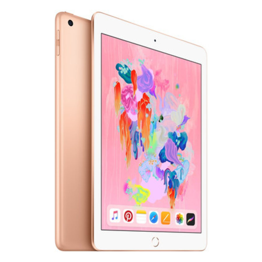 Refurbished iPad 2018 128GB Gold Wifi + 4G-1