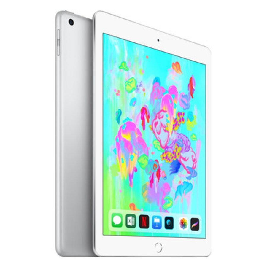 Refurbished iPad 2018 128GB Silver Wifi + 4G-1