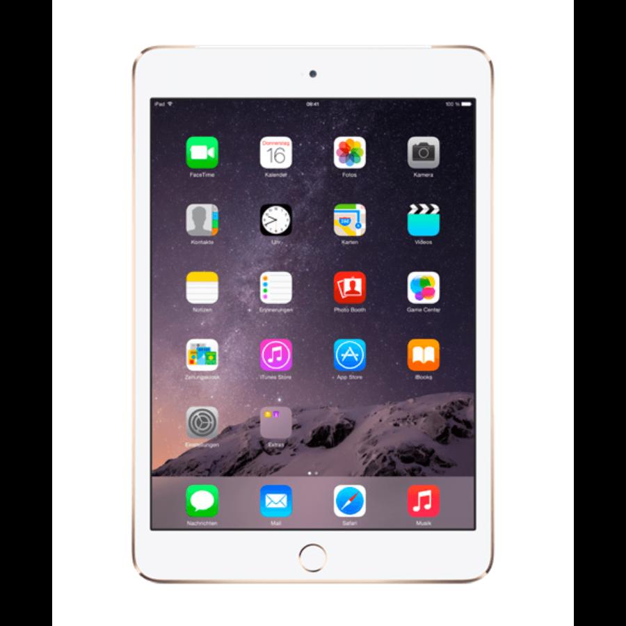 Refurbished iPad Mini 3 Goud 16GB Wifi + 4G-2