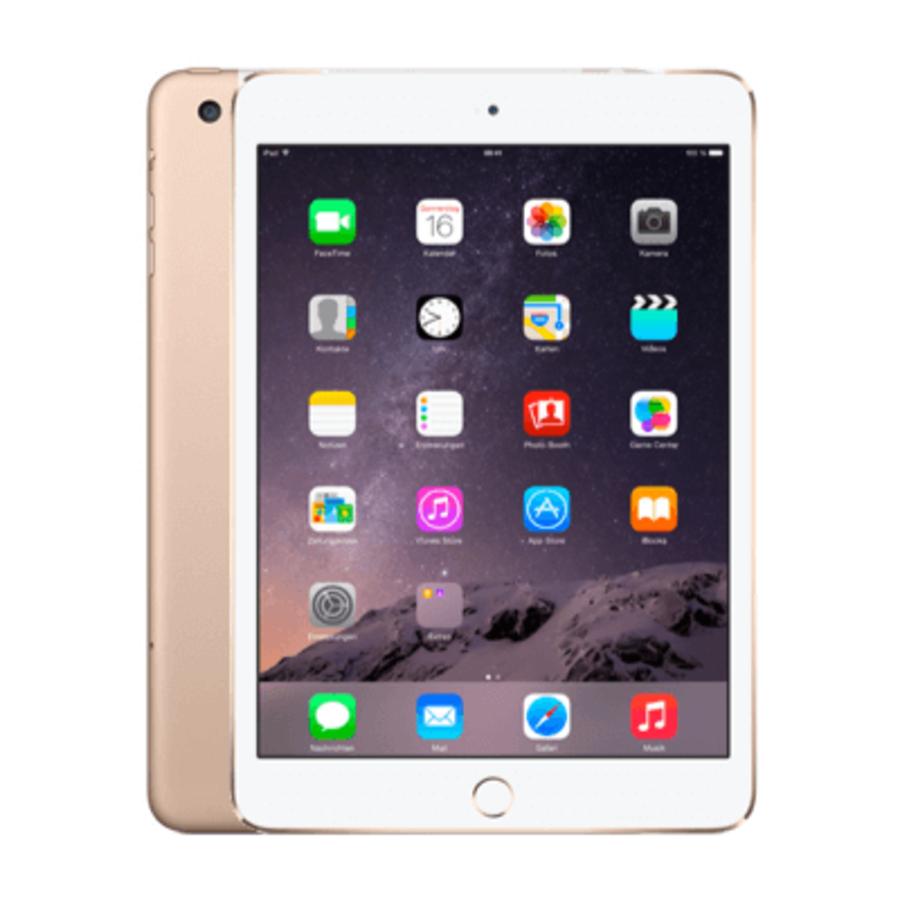 Refurbished iPad Mini 3 Goud 16GB Wifi + 4G-4
