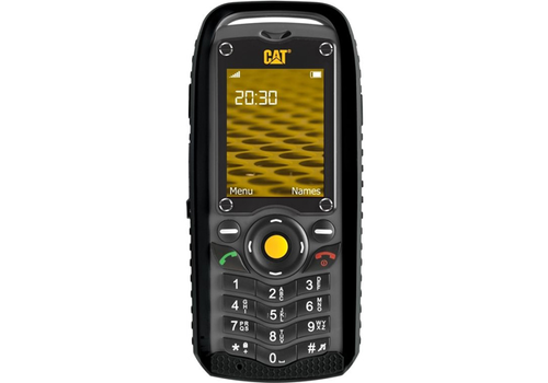Caterpillar CAT B25 Dual Sim Black - Geen NL taal