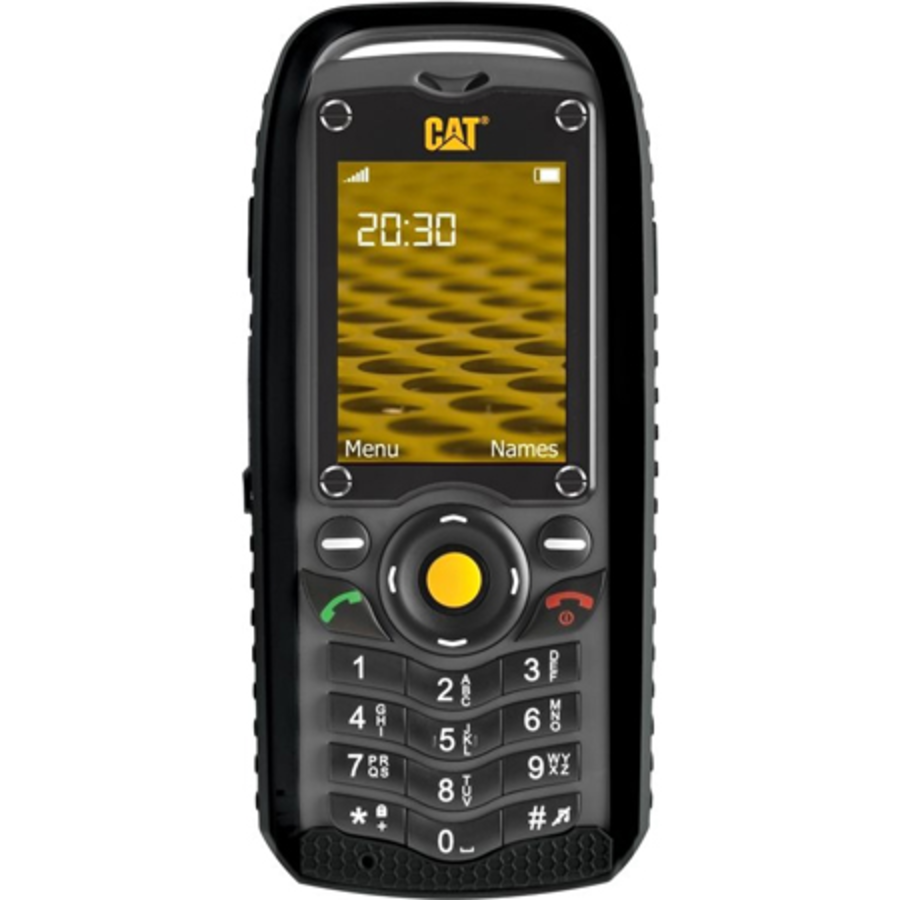 Caterpillar CAT B25 Dual Sim Black - Geen NL taal (Black - Geen NL taal)-1