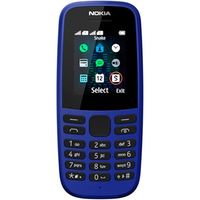 Nokia 105 Neo 2019 Dual Sim Blue (Black)