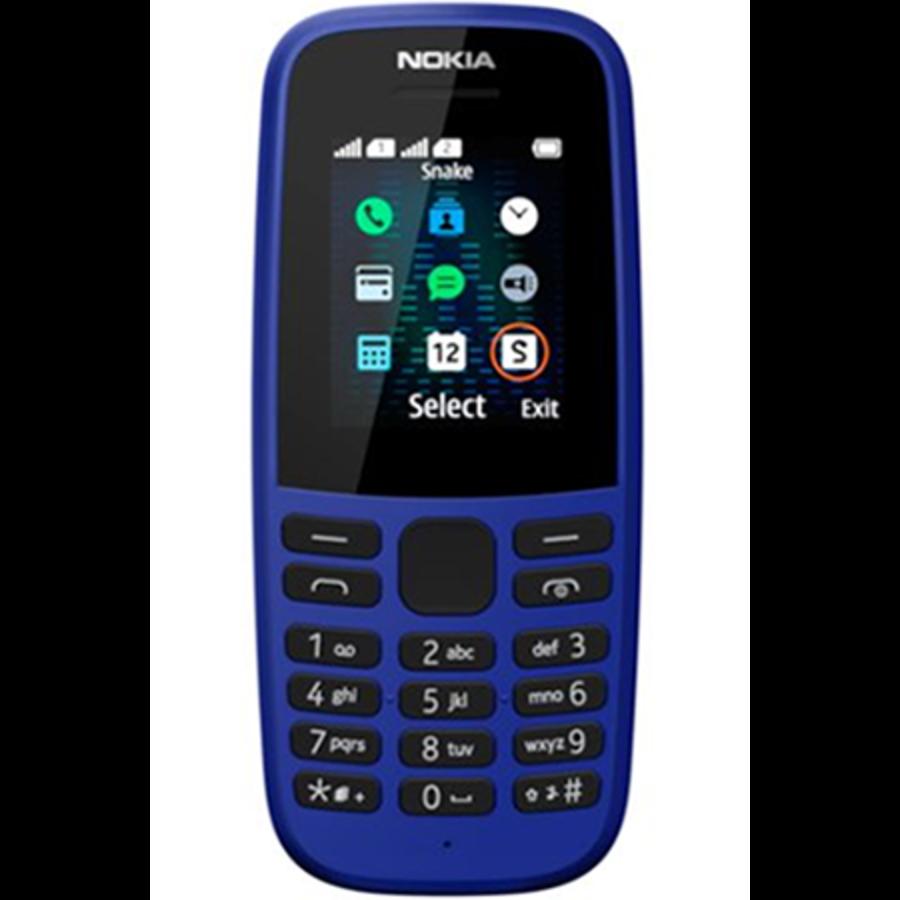 Nokia 105 Neo 2019 Dual Sim Blue (Black)-1