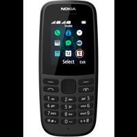 Nokia 105 Neo 2019 Dual Sim Black (Black)