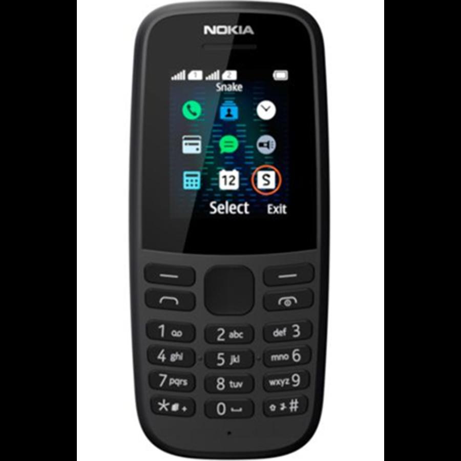 Nokia 105 Neo 2019 Dual Sim Black (Black)-1