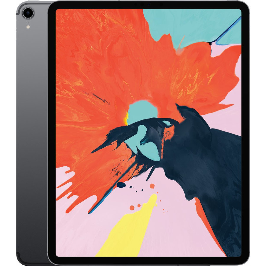 Refurbished iPad Pro 12.9 Inch (2018 Versie) 64GB Space Grey Wifi + 4G-1
