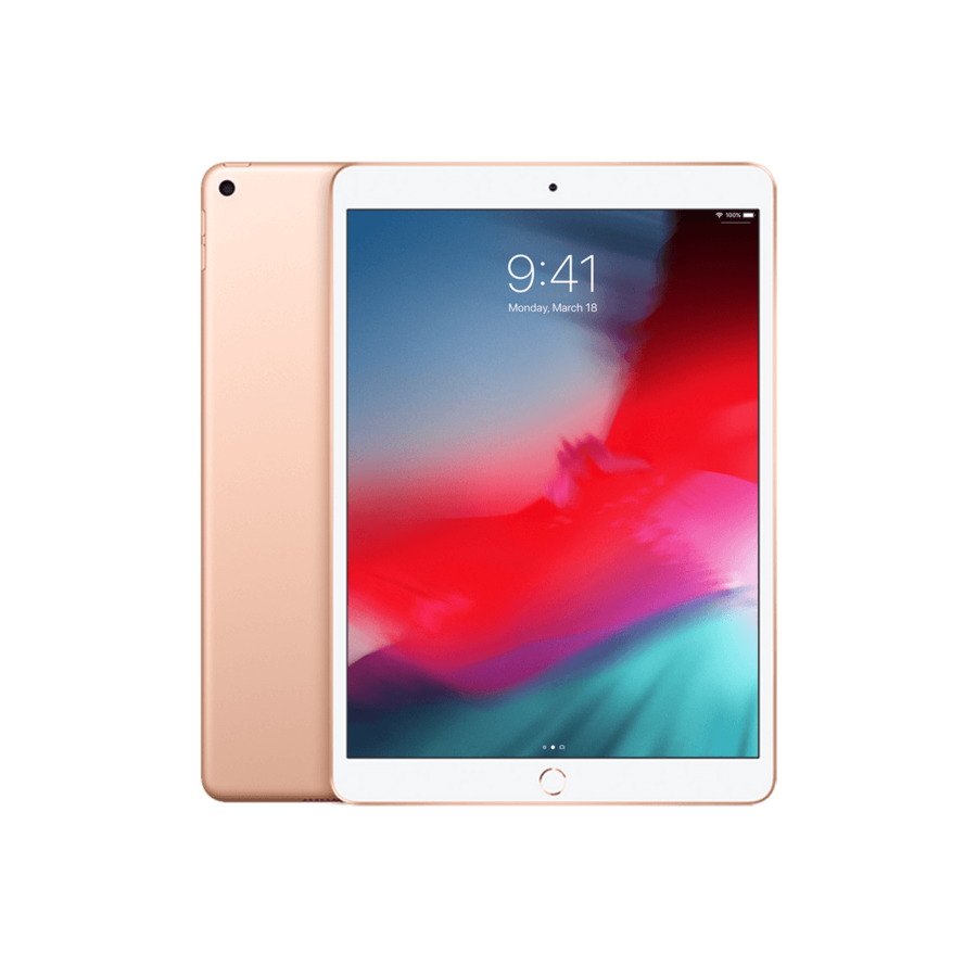 Refurbished iPad Air (2019) 64GB Gold Wifi only-1