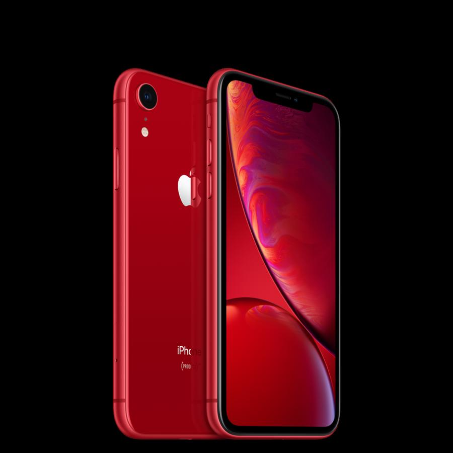 Refurbished iPhone XR 64GB Red + GRATIS handschoenen-1